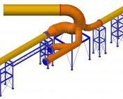 cálculos mecánicos y diseño de estructura soporte